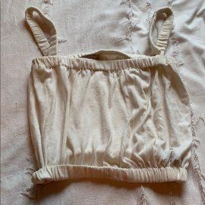 Zara Knit Cream Tank Top- Size M